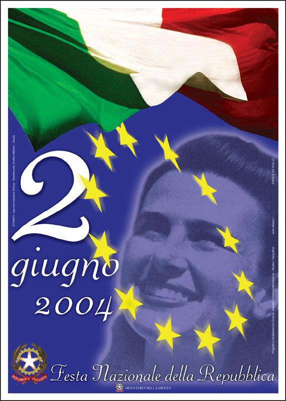 2 giugno 2004 manifesto festa nazionale della repubblica for Sito della repubblica