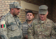 Herat - Afghanistan: visita del Comandante dell'ISAF Joint Command