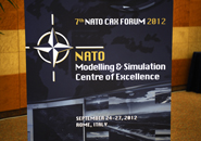 Roma - Conclusa la 7^ edizione del NATO Computer Assisted Exercise Forum 2012