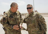 Shindand - Afghanistan: il Comandante dell'ISAF Joint Command visita il Regional Command West