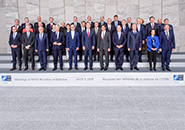 Bruxelles - Nato: Defence Ministerial Wraps Up in Brussels