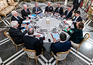 Rome - Meeting of The Supreme Defence Council