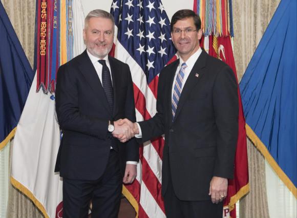 """La Difesa italiana si riallinea agli USA. Il dispaccio riservato dell'ambasciatore: """"Puntiamo su Guerini"""""""